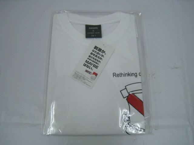 【新品】NUMBER NINE ナンバーナイン Marlboro マルボロ エンブレム Tシャツ F フリー ホワイト