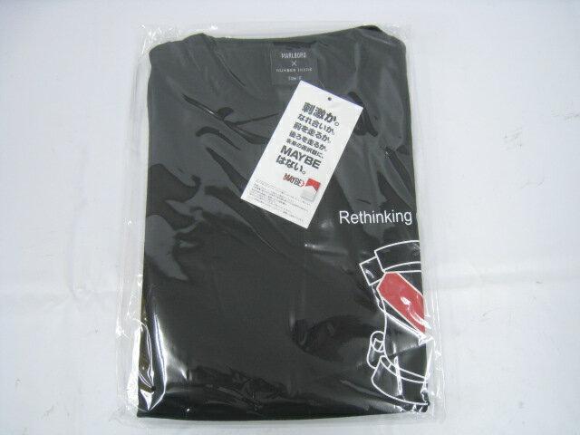 【新品】NUMBER NINE ナンバーナイン Marlboro マルボロ エンブレム Tシャツ F フリー ブラック 黒