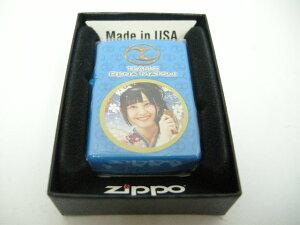 【新品】2010年製 ZIPPO ジッポー AKB48 松井玲奈 ぱちんこ 銭形平次 with チームZ オイル ライター 京楽