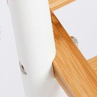 【送料無料】Orange(オレンジ)家具天然竹壁掛けシェルフ(3段)幅59×奥行20×高さ70cmcs8730-3収納収納シェルフ収納グッズ竹製