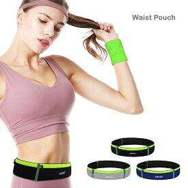 ウェストポーチ ランニング ウエストポーチ タッチパネル対応 スマホケース スマホホルダー トラベル 旅行 ハイキング ネオンカラー マラソン ジョギング Xperia GALAXY iPhone6 6s iPhone 6 Plus 6s Plus