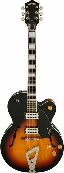 Gretsch G2420 Streamliner Hollow Body with Chromatic II Tailpiece Aged Brooklyn Burst エイジド・ブルックリン・バースト【グレッチ】【ストリームライナー】【エレキギター】