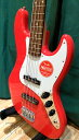 Squier by FenderAffinity Series Jazz Bass RCR ( Race Red )スクワイヤー アフィニティージャズベース レースレッド…