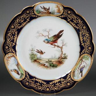 貂毛裝飾瓷窯板鳥普萊西 K38 中國法國
