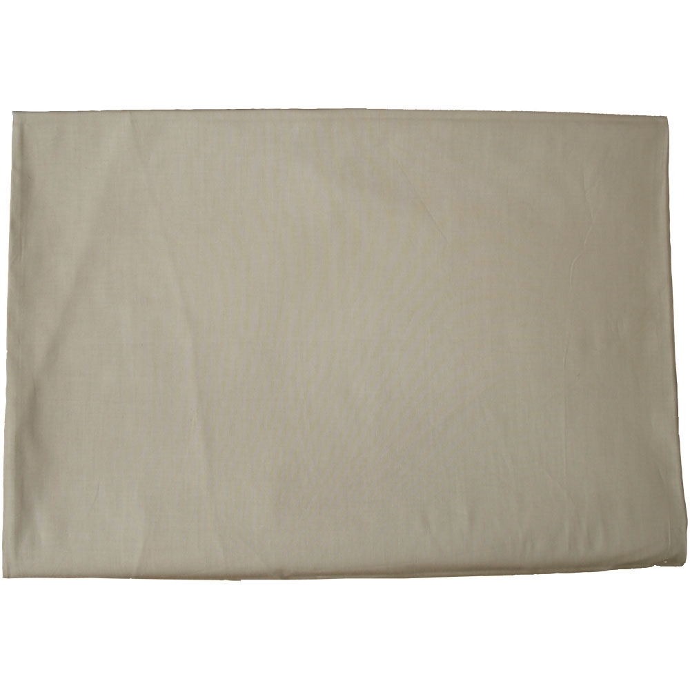 【アウトレット】【業務用】綿100% カラーシーツ 203×290cm ベージュ