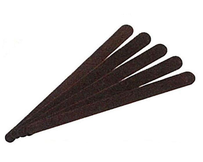 レザークラフト サンドスティック 荒目 18cm (5枚入) 8659 (ネコポス・ゆうパケット可)