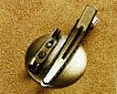 レザークラフト 2Wayコサージュピン しんちゅう 2コ入 1790 (ネコポス・ゆうパケット可)