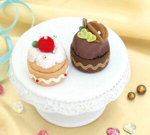 スウィーツマグネット いちごのケーキとチョコケーキ PA-726 (メール便不可)