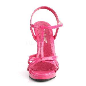 【お取り寄せ品】ハイヒールサンダルピンク【大きいサイズ26cm27cm28cm29cm30cmハイヒールピンヒールエナメル女装用男性靴Fabulicious】FLAIR-420/HP/M(type)