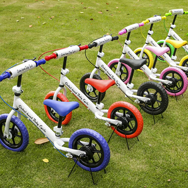 【楽天スーパーセール対象商品 送料無料】 バランスバイク 2歳 ブレーキ 3歳 4歳 おしゃれ キッズ 自転車 子供用 乗り物 軽量 キックバイク ペダルなし自転車 トレーニングバイク ブレーキ付き ランニングバイク キッズ 子ども自転車 キッズバイク 乗用玩具 足けり 外 足けり