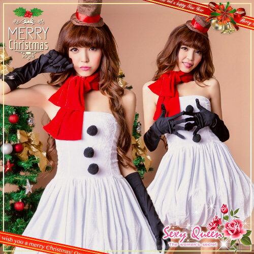 雪だるま クリスマスコスチューム サンタ コスプレ 衣装 雪だるま 仮装 サンタクロースコスチューム 女性用 パーティー レディース サンタコスプレ セット ドレス レディース ホワイト 雪んこ クリスマスコスプレ 通販 サンタ ゆうパケット不可
