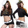 COP cosplay police guard uniform costume Lady COP teacher COP police S series career work play cosplay costume uniform fancy dress event party non-women Halloween costume