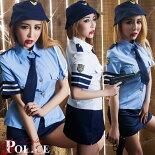 ポリスコスプレポリスコスチュームハロウィンコスプレセクシー制服ミニスカ婦警ポリスハロウィンコスチューム仮装POLICEコスプレハロウィン