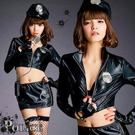 ハロウィン コスプレ ポリス コスプレ衣装 セクシー 制服 衣装 コスチューム 仮装 ミニスカ 警察官 衣装 警官 ミニスカート POLICE 大人 こすぷれ cosplay costume