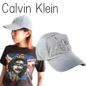 【10%OFF!楽天スーパーSALE】カルバンクライン キャップ 帽子 デニム Calvin Klein ジーンズ