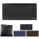 ポールスミス 財布 メンズ 長財布 かぶせ フラップ 牛革 小銭入れあり Paul Smith ブランド 正規品 新品 シティエンボ…