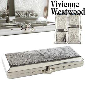 【追跡可能メール便】Vivienne Westwood ヴィヴィアンウエストウッド シガレットケース たばこケース 喫煙具 メンズ レディース メタルスリムORB 1518903