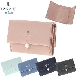 af8f223e2c1a ランバンオンブルー LANVIN en Bleu 財布 3つ折り財布 シャペル 482014