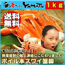 ボイル本ズワイ蟹脚 1kg カニ かに ズワイガニ ずわい蟹 蟹 船上凍結 グルメ 贈答 海鮮 お歳暮 ギフト 内祝い 父の日 海の幸