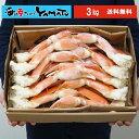 特大(3Lサイズ)スチーム本ズワイ蟹 3kg ズワイガニ カニ かに お中元 お祝い ギフト 食品