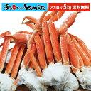 【見切り半額クーポン発行中】 ボイル本ズワイ蟹 山盛り5kg かに カニ 蟹 ずわい蟹 メガ盛 グルメ 贈答 海鮮 ギフト …