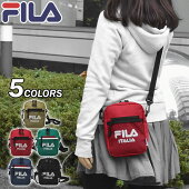 FILA(フィラ)ポリキャンバス縦型ミニショルダーバッグ
