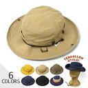 コットンツイル アドベンチャーハット /メンズ レディース 男性 女性 男女兼用 帽子 ハット 2way テンガロンハット サ…