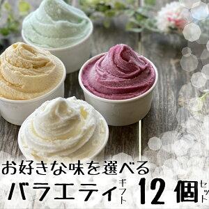【送料無料】ギフトに『ジェラート 12個選べる バラエティギフトセット』[ いちご ご当地スイーツ アイスクリーム 贈答 スイーツ セット ジェラート ギフト 内祝い 名入れ アイス 詰め合わ