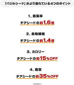 《満腹30倍》ダイエットサポートキャンディキウイ味チアシードバジルシードスーパーフード飴ダイエット食品★3,240円以上で送料無料