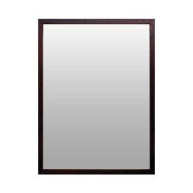 Magnet Mirror Rectangle-Brown《ミラー》マグネット ミラー 長方形-ブラウン
