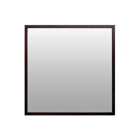 Magnet Mirror Square-Brown《ミラー》マグネット ミラー 正方形-ブラウン