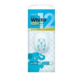 【★/ケース販売】ネピア Whito(ホワイト) パンツ ビッグサイズ 12時間タイプ 38枚【入数:3】