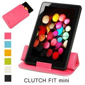 7〜8インチ タブレット PC ケース CLUTCH FIT mini iPad mini 2012 Nexus7 GALAXY Tab ASUS Lenovo Kindle 薄型軽量 スリーブケース 幡ヶ谷カバン製作所 (ah-2263m) スリーブ型 スタンド シンプルでユニークなデザイン【メール便送料無料】