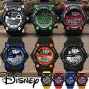 腕時計 Disney ディズニー ミッキー マウス デジタル スポーツ ラバーベルト ミッキースポーツデジタル腕時計 (fa-NFC110005/7) アウトドア 50M防水 ライト機能 アラーム 隠