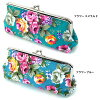 Cute pouch ladies cosmetic pen holder pen case wristlet SELECTION selection vintage fabric style floral purse pouch (ar-GAMA-CASm) fashion gusset is also rich in the outstanding storage capacity: P15Aug15