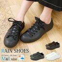 レインシューズ レディース スニーカー 長靴 靴 雨靴 ローカット レインスニーカー (ak-sy-30040-50-230) 完全防水 雨…