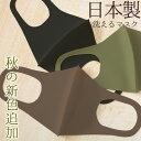 マスク 日本製 新色追加 秋 冬 春用マスク 洗える 2枚セット 3D 立体マスク UVカット ...