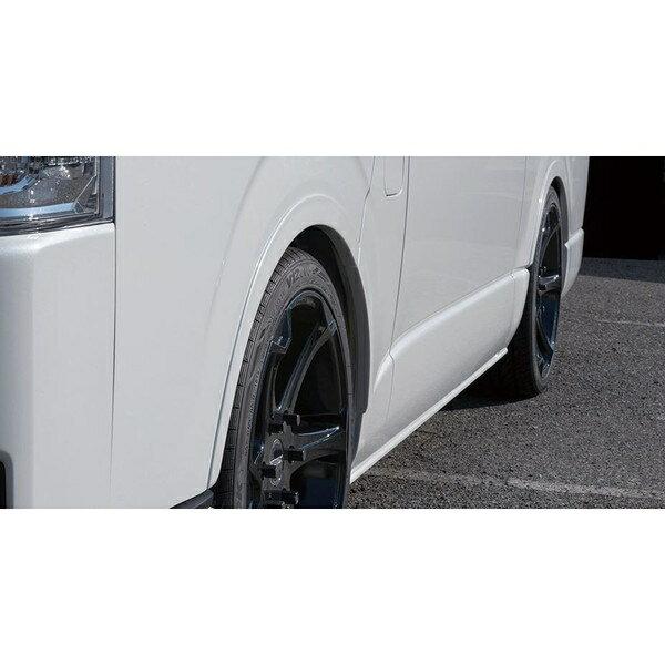 エセックス(ESSEX/CRS) リーガルフェンダー 塗装済み(209ブラック/070ホワイトパール) 200系ハイエース