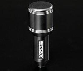 エセックス(ESSEX/CRS) ビレットシフトノブ ブラックポリッシュ 200系ハイエース用