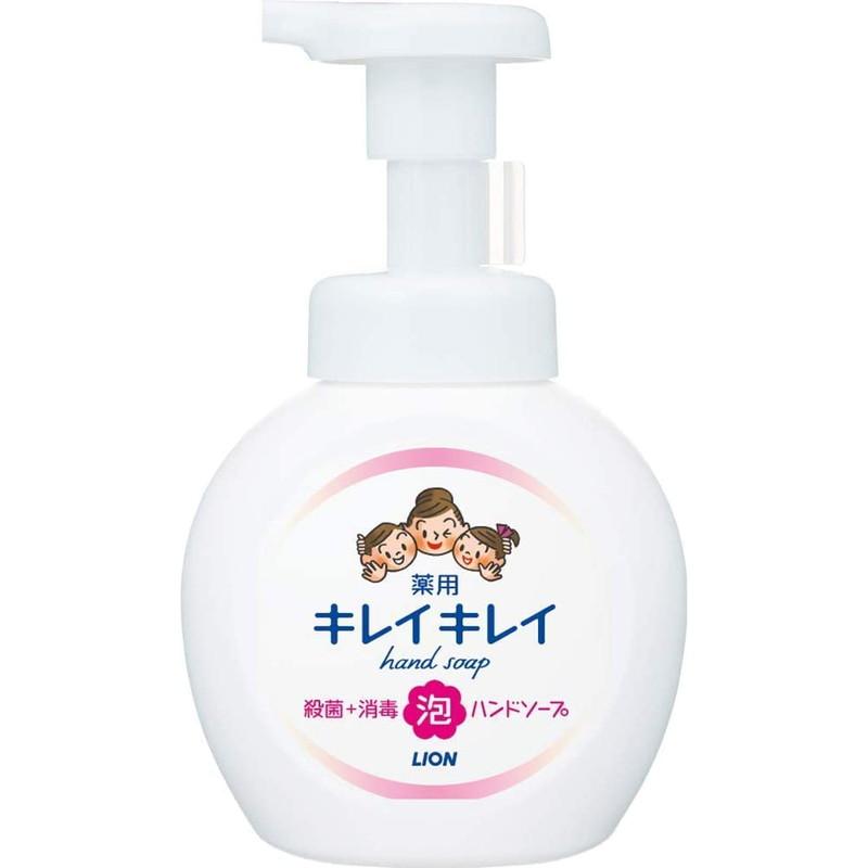 ライオン キレイキレイ 薬用泡ハンドソープ ポンプ シトラスフルーティの香り 250mL (医薬部外品)