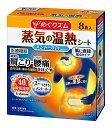 花王 めぐりズム 蒸気の温熱シート 肌に直接貼るタイプ メントールin 8枚入