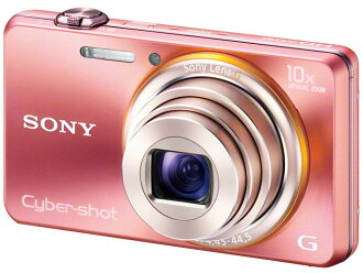 ★ new ★ SONY and new development of AA lens with 10 x optical zoom Cyber-shot / DSC-WX100 Cyber-shot (P) [Pink]