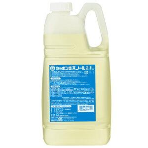 シャボン玉スノール液体タイプ 2.1L 《シャボン玉石けん》