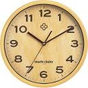 壁掛け時計 ナチュラル MC-501
