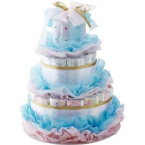 おむつdeケーキ はじめてママ NewMama-001 出産祝い ギフトセット タオル かわいい ギフト プレゼント 内祝い お返し ベビー 赤ちゃん おむつケーキ オムツケーキ メモリアル お祝い【6日9:59まで