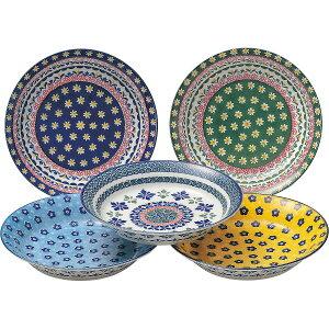 ポルスカ パスタプレート5枚セット 02008 内祝 洋食器 皿 お皿 プレート ギフト 贈り物 詰め合わせ セット【1日9:59までポイント10倍】