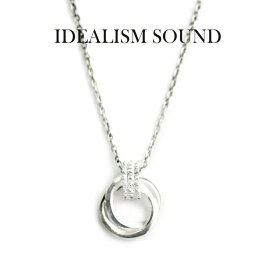 idealism sound ネックレス,イデアリズムサウンド ネックレス,idealism sound ダブルリングネックレス,Silver925,通販,取扱い