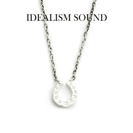 idealism sound ネックレス,イデアリズムサウンド ネックレス,idealism sound ホースシューネックレス,Silver925,通販,取扱い