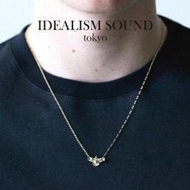 idealism sound イデアリズムサウンド TINY EAGLE NECKLACE K10YG イーグル ネックレス K10イエローゴールド
