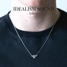 idealism sound イデアリズムサウンド TINY EAGLE NECKLACE SILVER イーグル ネックレス シルバー